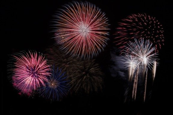 Nepali New Year celebration firecrackers
